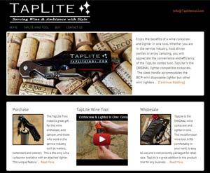 Taplite-tool-website-creation