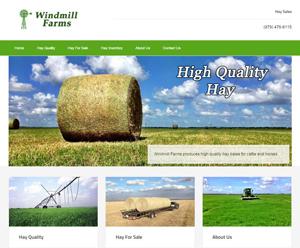 Windmill Farm website development