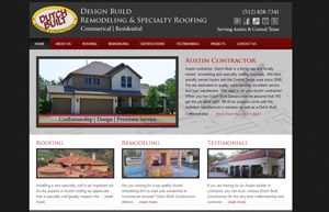 Dutch Built Construction Website