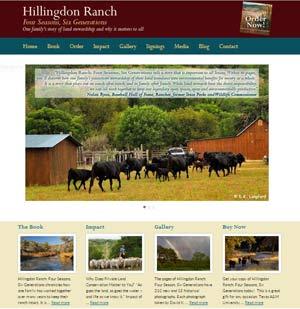 Hillingdon Ranch book website